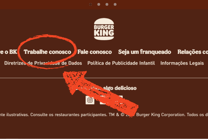 Ideia Livre Jovem Aprendiz Burger King