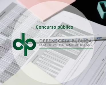 Concurso público Defensoria Pública RS Capa